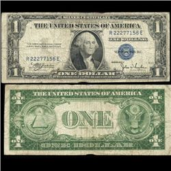 1935C $1 Silver Certificate Nice Condition SCARCE (COI-4683)
