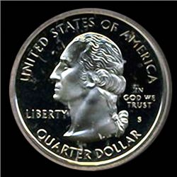 2000 US S Carolina Quarter Coin PR70 GEM (COI-3594)