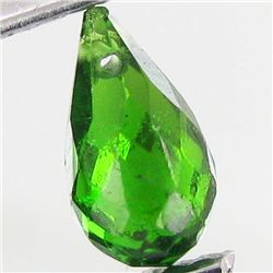 0.4ct Chrome Diopside Briolette (GMR-1111A)