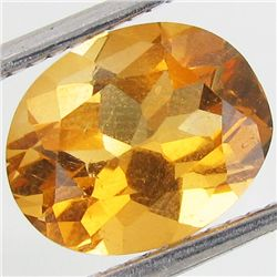 2.39ct Yellow Citrine Oval (GEM-41077)