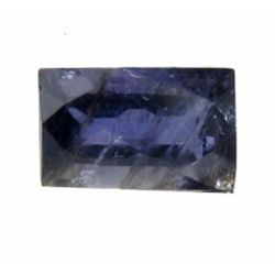 2.50ct Baguette Natrual Purple Tanzanite Iolite (GEM-12844)