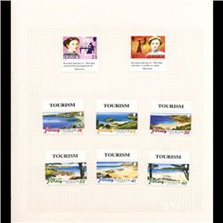 Jersey Mint Margin Single Album Page 8 Pcs (STM-0677)