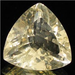 13.00ct Clear Champagne Oregon Sunstone Trillion (GEM-31076)