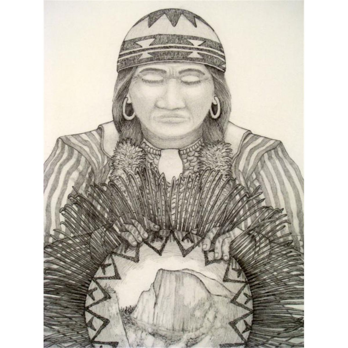Native American Women Art Signed native american artNative American Women Artists