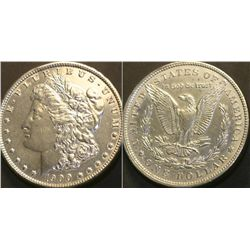JG 912-1900 P BU Morgan Dollar