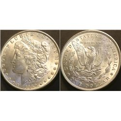 JG 918-1889 P BU Morgan Dollar