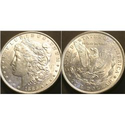 JG 919-1886 P BU Morgan Dollar