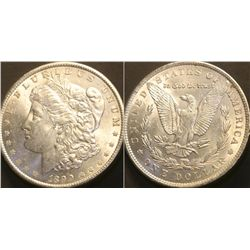 JG 920-1890 P BU Morgan Dollar