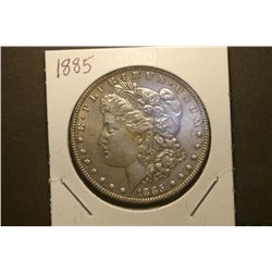 JG 923- 1885 P BU Morgan Dollar - OR I G. Tone