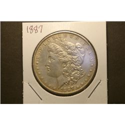 JG 924-1887 P BU Morgan Dollar-