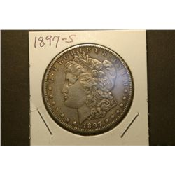 JG 925-1897 S AU Morgan Dollar better date