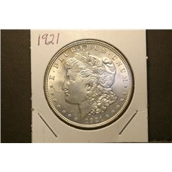 JG 936-1921 D BU Morgan Dollar-