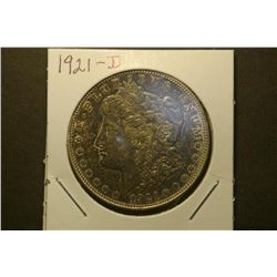 JG 937 1921 P Dark Toned Morgan Dollar