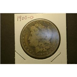 JG 939- 1900 O VG Morgan Dollar toned