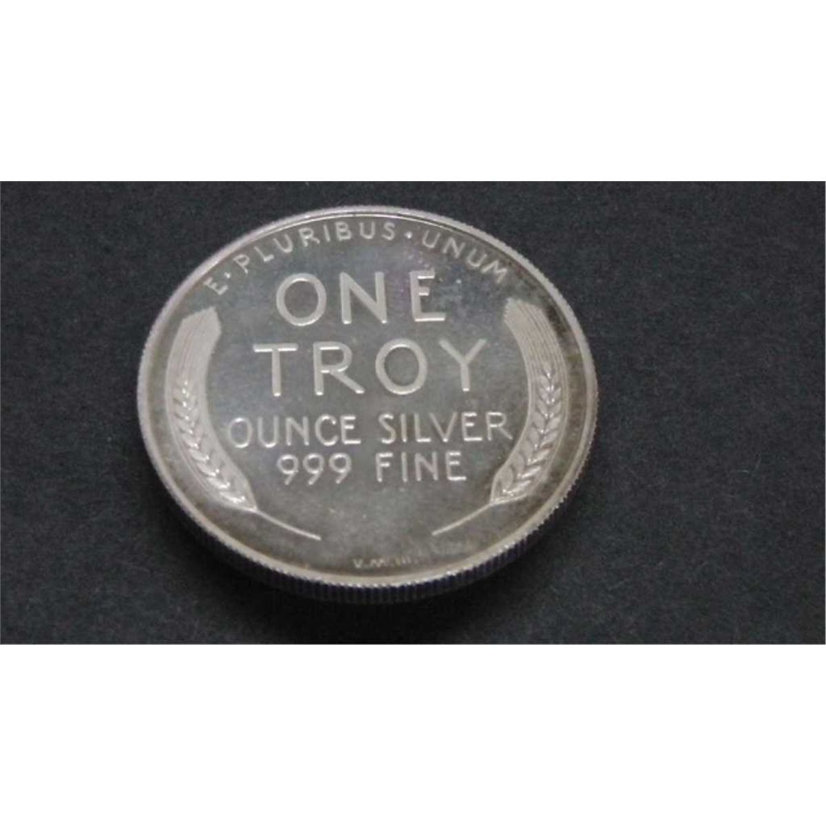 1987 One Troy Ounce Of 999 Fine Silver