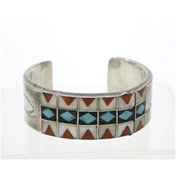 Zuni Channel Inlay Bracelet