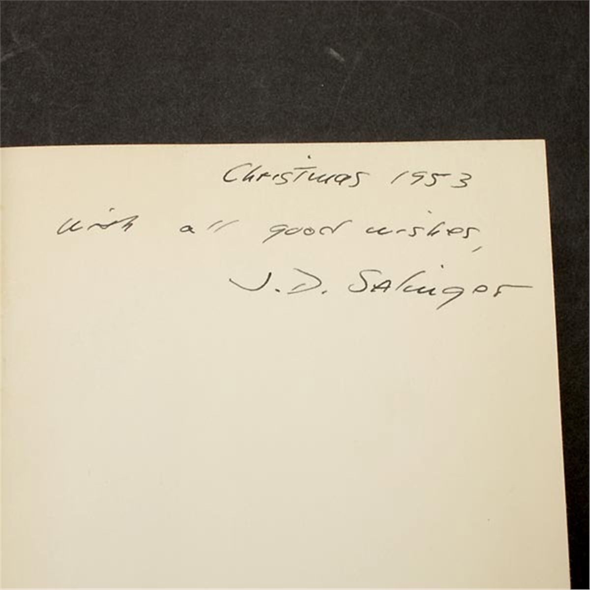 j d salinger essay J d salinger: country: united  in his short 1977 book zen in the art of j d salinger, observes that franny and zooey could be interpreted as a  in an essay.