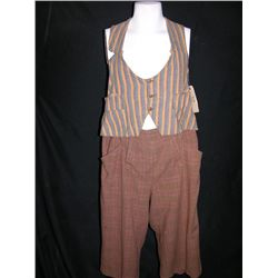Wallace Beery Screen Worn Vest and Pants