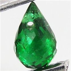 0.3ct Green Tourmaline Briolette (GMR-1110A)