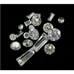 1.00ct Lot Mixed Cut Hi-Grade White Diamonds (GMR-1083)