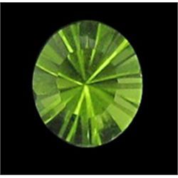 1.11ct Beautiful Pakistan Peridot Green Round  (GMR-1066)