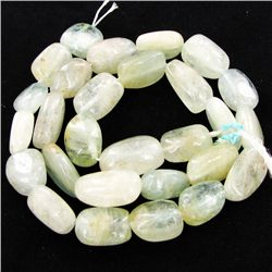 "295twc Sea Green Aquamarine Bead Strand 16"" (JEW-3003)"