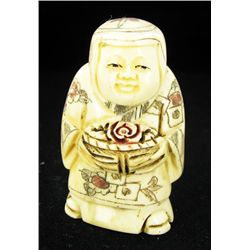 Chinese Handcarved Bone Netsuke (CLB-787)