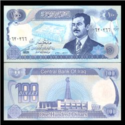1994 Iraq 100 Dinars Crisp Uncirculated Note (CUR-05900)