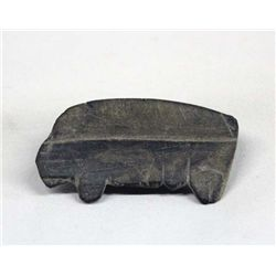 Mimbres Slate Stone Bear Fetish