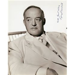 Sydney Greenstreet portrait signed