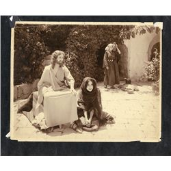 Collection of ten vintage stills from the film From the Manger to the Cross
