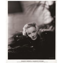 Marlene Dietrich vintage publicity portrait for The Scarlet Empress