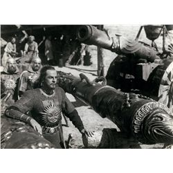 Sergei Eisenstein collection of (4) oversize stills from Alexander Nevsky and Ivan the Terrible