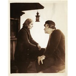Greta Garbo collection of (8) portrait and scene stills, 1926-37