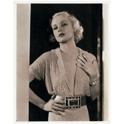 Carole Lombard pair of portrait stills, 1932 and 1937