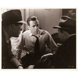 Pair of The Maltese Falcon publicity stills by Mack Elliott