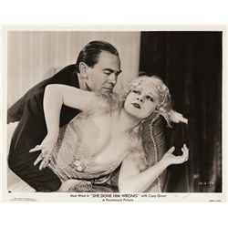 Mae West collection of (3) portrait and scene stills, 1933-1934