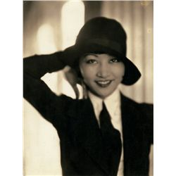 Anna May Wong pair of early portrait stills