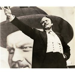 Orson Welles as director, 45+ original  photos from Citizen Kane, Magnificent Ambersons, & Macbeth