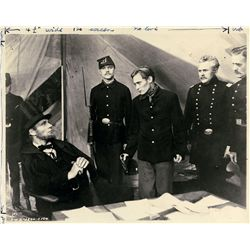 Abraham Lincoln collection of (140+) original still photos from three biopics on him