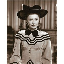 Collection of wardrobe test shots of Barbara Stanwyck from California