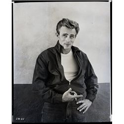 James Dean original camera negative from Rebel Without a Cause & 4 x 5 in. transparencey from Giant