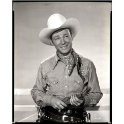 Roy Rogers camera negatives