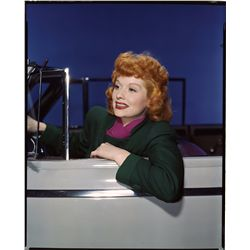 Lucille Ball color transparencies