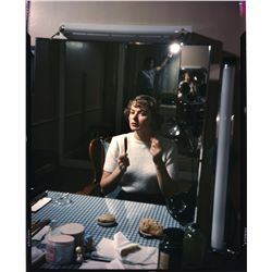 Ingrid Bergman color transparencies