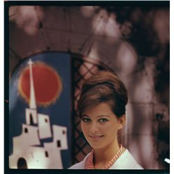 Claudia Cardinale color transparencies from Circus World and Don't Make Waves