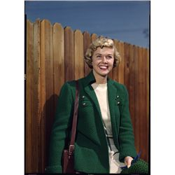 Doris Day color transparencies