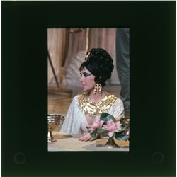 Elizabeth Taylor color transparencies and negatives from Cleopatra and The Taming of the Shrew