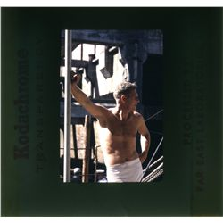 Steve McQueen color transparencies from The Cincinnati Kid, The Sand Pebbles and other films