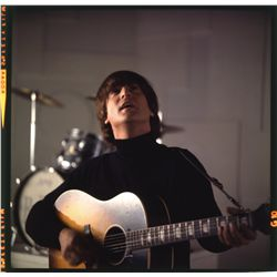The Beatles 15+ color transparencies and (3) vintage publicity photos